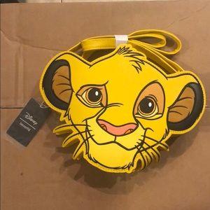 Simba crossbody from Disney's Loungefly.